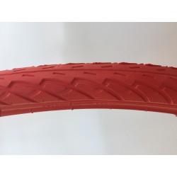 Opona rowerowa czerwona 26x1.75 47-559