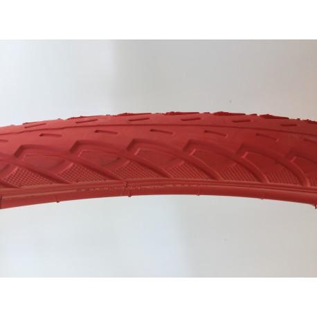 Opona rowerowa czerwona SA-206
