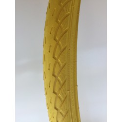 Opona rowerowa żółta 26x1.75 47-559