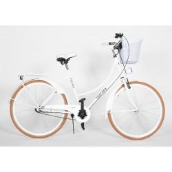 Rower Toscana biały 28 cali 3biegi Nexus damka