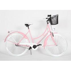 Rower Toscana różowy 28 cali 3biegi Nexus damka